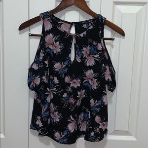 One Clothing Open Shoulder Top